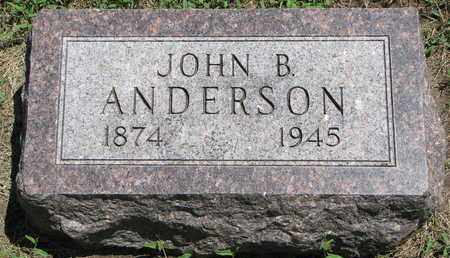 ANDERSON, JOHN B. - Union County, South Dakota | JOHN B. ANDERSON - South Dakota Gravestone Photos