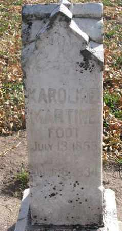 ANDERSON, KAROLINE MARTINE - Union County, South Dakota | KAROLINE MARTINE ANDERSON - South Dakota Gravestone Photos
