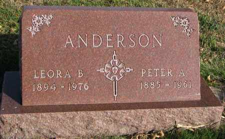 ANDERSON, PETER A. - Union County, South Dakota | PETER A. ANDERSON - South Dakota Gravestone Photos