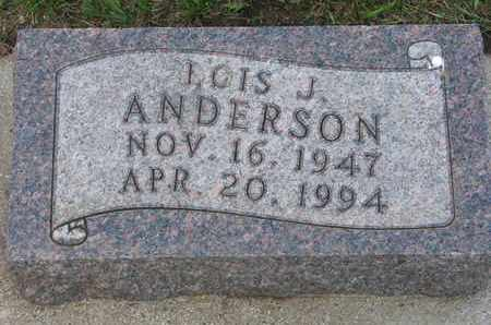ANDERSON, LOIS J. - Union County, South Dakota | LOIS J. ANDERSON - South Dakota Gravestone Photos