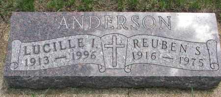 ANDERSON, REUBEN S. - Union County, South Dakota | REUBEN S. ANDERSON - South Dakota Gravestone Photos