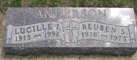 ANDERSON, LUCILLE I. - Union County, South Dakota | LUCILLE I. ANDERSON - South Dakota Gravestone Photos