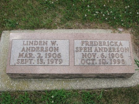 "ANDERSON, FREDERICKA E. ""FRITZIE"" - Union County, South Dakota 