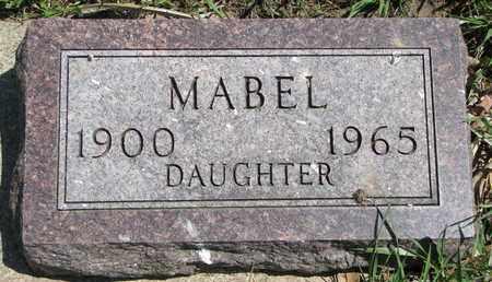 ANDERSON, MABEL - Union County, South Dakota   MABEL ANDERSON - South Dakota Gravestone Photos