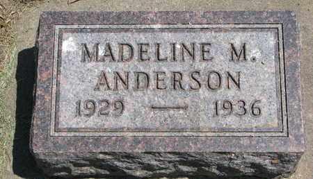ANDERSON, MADELINE M. - Union County, South Dakota | MADELINE M. ANDERSON - South Dakota Gravestone Photos