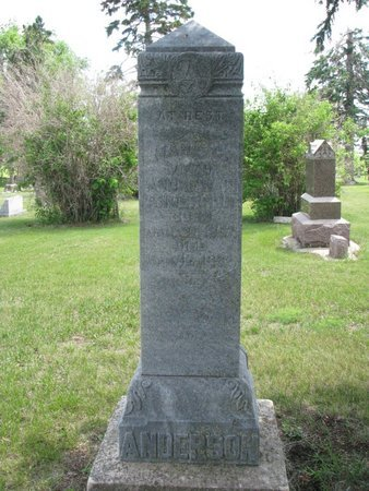 ANDERSON, MARY C. - Union County, South Dakota   MARY C. ANDERSON - South Dakota Gravestone Photos