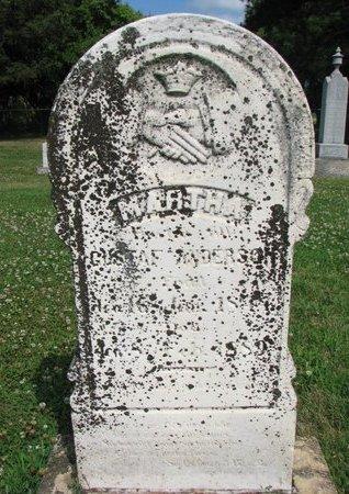 "ANDERSON, MARTHA ""MARTA"" - Union County, South Dakota | MARTHA ""MARTA"" ANDERSON - South Dakota Gravestone Photos"