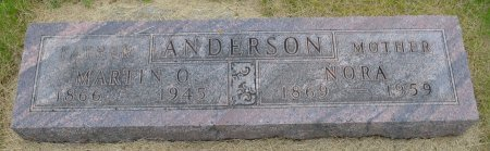 ANDERSON, MARTIN OLUS - Union County, South Dakota | MARTIN OLUS ANDERSON - South Dakota Gravestone Photos