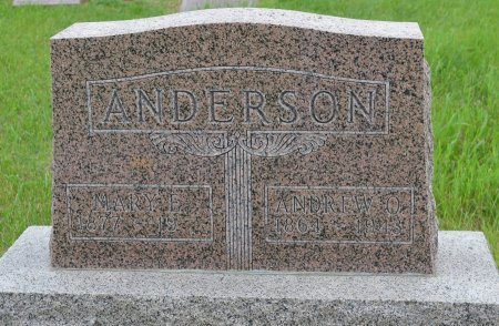 ANDERSON, ANDREW O. - Union County, South Dakota | ANDREW O. ANDERSON - South Dakota Gravestone Photos