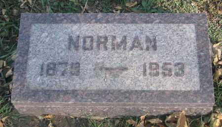 ANDERSON, NORMAN - Union County, South Dakota | NORMAN ANDERSON - South Dakota Gravestone Photos