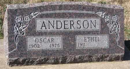 ANDERSON, OSCAR - Union County, South Dakota | OSCAR ANDERSON - South Dakota Gravestone Photos