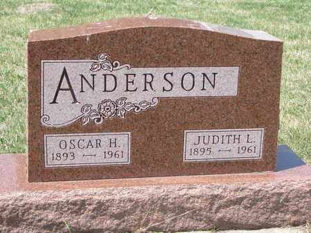 ANDERSON, OSCAR H. - Union County, South Dakota | OSCAR H. ANDERSON - South Dakota Gravestone Photos