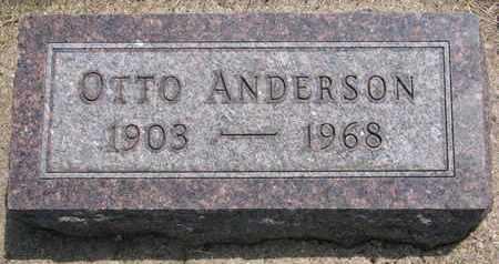 ANDERSON, OTTO - Union County, South Dakota | OTTO ANDERSON - South Dakota Gravestone Photos