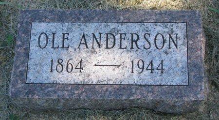 ANDERSON, OLE - Union County, South Dakota | OLE ANDERSON - South Dakota Gravestone Photos