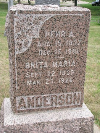 ANDERSON, BRITA MARIA - Union County, South Dakota | BRITA MARIA ANDERSON - South Dakota Gravestone Photos