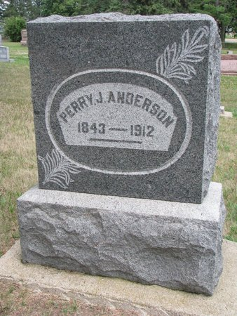 ANDERSON, PERRY J. - Union County, South Dakota | PERRY J. ANDERSON - South Dakota Gravestone Photos