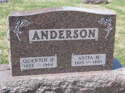 ANDERSON, ANITA M. - Union County, South Dakota | ANITA M. ANDERSON - South Dakota Gravestone Photos