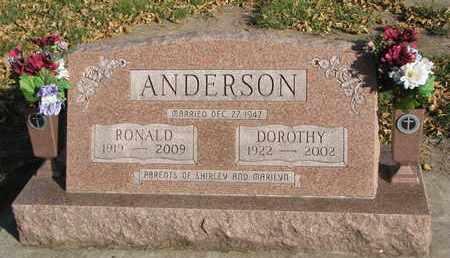 ANDERSON, DOROTHY - Union County, South Dakota | DOROTHY ANDERSON - South Dakota Gravestone Photos
