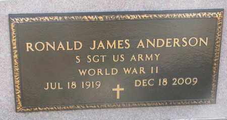 ANDERSON, RONALD JAMES (MILITARY) - Union County, South Dakota | RONALD JAMES (MILITARY) ANDERSON - South Dakota Gravestone Photos
