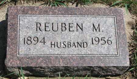 ANDERSON, REUBEN M. - Union County, South Dakota | REUBEN M. ANDERSON - South Dakota Gravestone Photos