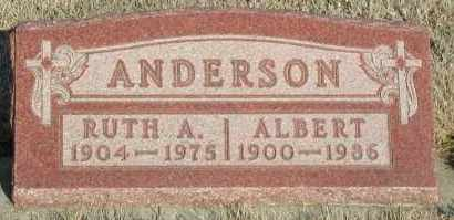 ANDERSON, RUTH A - Union County, South Dakota | RUTH A ANDERSON - South Dakota Gravestone Photos