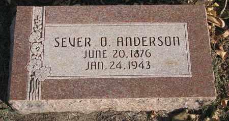 ANDERSON, SEVER O. - Union County, South Dakota | SEVER O. ANDERSON - South Dakota Gravestone Photos