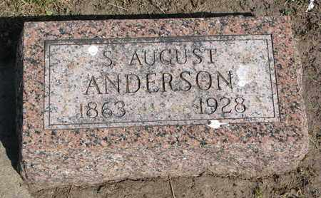 ANDERSON, S. AUGUST - Union County, South Dakota | S. AUGUST ANDERSON - South Dakota Gravestone Photos