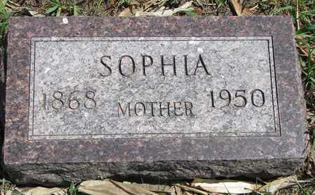 ANDERSON, SOPHIA - Union County, South Dakota | SOPHIA ANDERSON - South Dakota Gravestone Photos