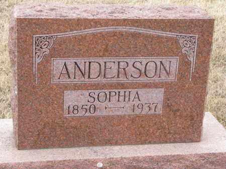 ANDERSON, SOPHIA - Union County, South Dakota | SOPHIA ANDERSON - South Dakota Gravestone Photos