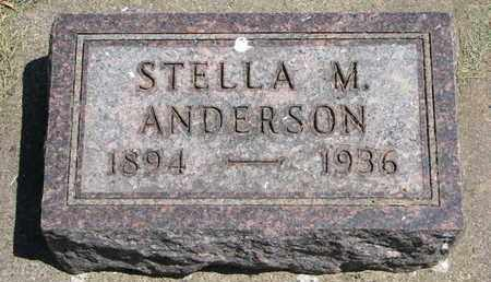 ANDERSON, STELLA M. - Union County, South Dakota | STELLA M. ANDERSON - South Dakota Gravestone Photos