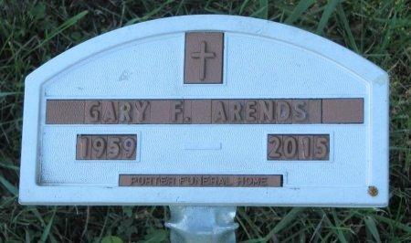 ARENDS, GARY FRANCIS - Union County, South Dakota   GARY FRANCIS ARENDS - South Dakota Gravestone Photos
