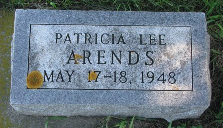 ARENDS, PATRICIA LEE - Union County, South Dakota | PATRICIA LEE ARENDS - South Dakota Gravestone Photos
