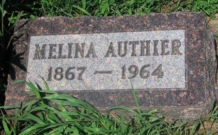 AUTHIER, MELINA - Union County, South Dakota | MELINA AUTHIER - South Dakota Gravestone Photos