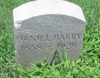BARRY, DANIEL - Union County, South Dakota   DANIEL BARRY - South Dakota Gravestone Photos