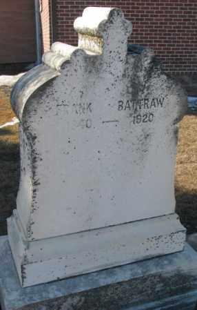 BATTRAW, FRANK - Union County, South Dakota | FRANK BATTRAW - South Dakota Gravestone Photos