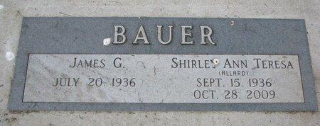 BAUER, JAMES G. - Union County, South Dakota | JAMES G. BAUER - South Dakota Gravestone Photos