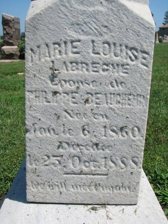 BEAUCHEMIN, MARIE LOUISE (CLOSEUP) - Union County, South Dakota   MARIE LOUISE (CLOSEUP) BEAUCHEMIN - South Dakota Gravestone Photos