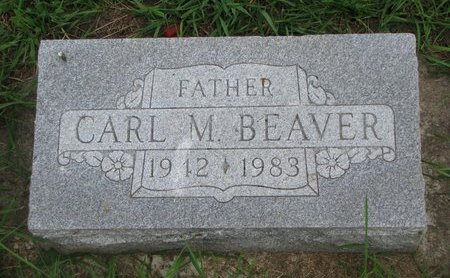 BEAVER, CARL M. - Union County, South Dakota   CARL M. BEAVER - South Dakota Gravestone Photos
