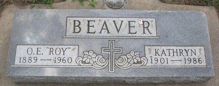 "BEAVER, ORLANDO ELSWORTH ""ROY"" - Union County, South Dakota | ORLANDO ELSWORTH ""ROY"" BEAVER - South Dakota Gravestone Photos"
