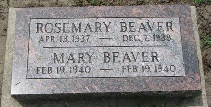 BEAVER, ROSEMARY - Union County, South Dakota | ROSEMARY BEAVER - South Dakota Gravestone Photos