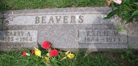 BEAVERS, EXILIE M. - Union County, South Dakota | EXILIE M. BEAVERS - South Dakota Gravestone Photos