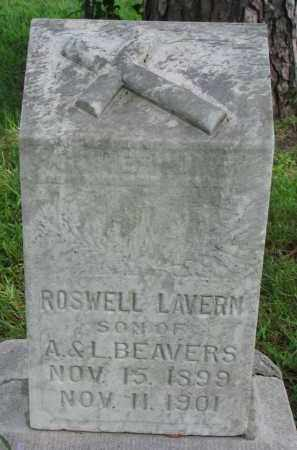 BEAVERS, ROSWELL LAVERN - Union County, South Dakota | ROSWELL LAVERN BEAVERS - South Dakota Gravestone Photos