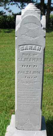 BEAVERS, SARAH - Union County, South Dakota | SARAH BEAVERS - South Dakota Gravestone Photos