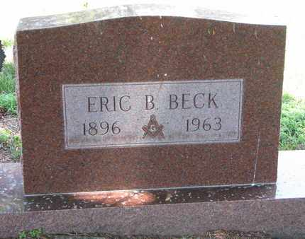 BECK, ERIC B. - Union County, South Dakota | ERIC B. BECK - South Dakota Gravestone Photos