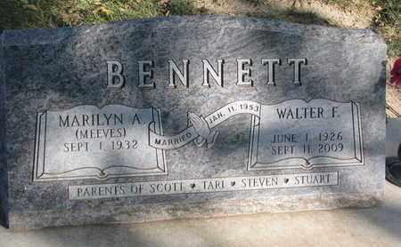 BENNETT, MARILYN - Union County, South Dakota   MARILYN BENNETT - South Dakota Gravestone Photos