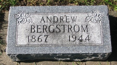 BERGSTROM, ANDREW - Union County, South Dakota | ANDREW BERGSTROM - South Dakota Gravestone Photos