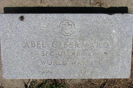 BERNARD, ABEL C. (WORLD WAR I) - Union County, South Dakota   ABEL C. (WORLD WAR I) BERNARD - South Dakota Gravestone Photos