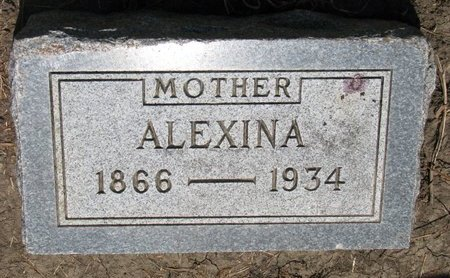 BERNARD, ALEXINA - Union County, South Dakota   ALEXINA BERNARD - South Dakota Gravestone Photos
