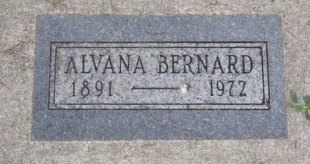 BERNARD, ALVANA - Union County, South Dakota | ALVANA BERNARD - South Dakota Gravestone Photos