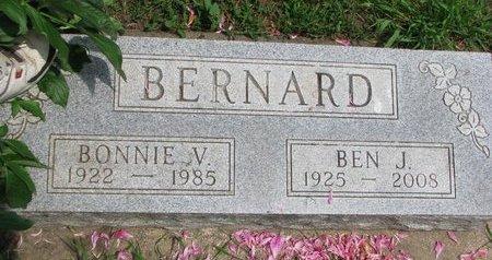 WENTHER BERNARD, BONNIE V. - Union County, South Dakota | BONNIE V. WENTHER BERNARD - South Dakota Gravestone Photos
